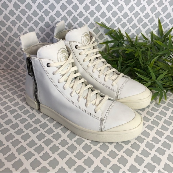 diesel zip round nentish sneaker